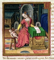 1505 - Medea from book Vie Des Femmes Celebres - artist unknown (french school)
