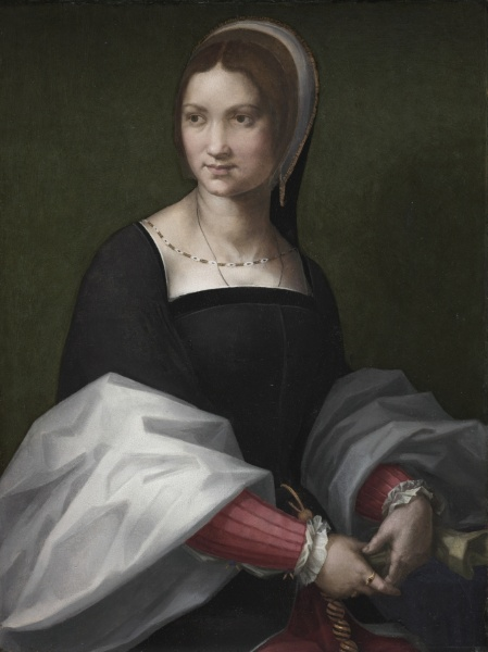 1518 - Portrait of a woman - Andrea del Sarto (del Sarto was in France at the time as a guest of Francis I)