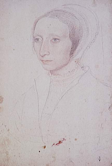 1530 (approx) - Jean Clouet - portrait of a woman - 1520-1530