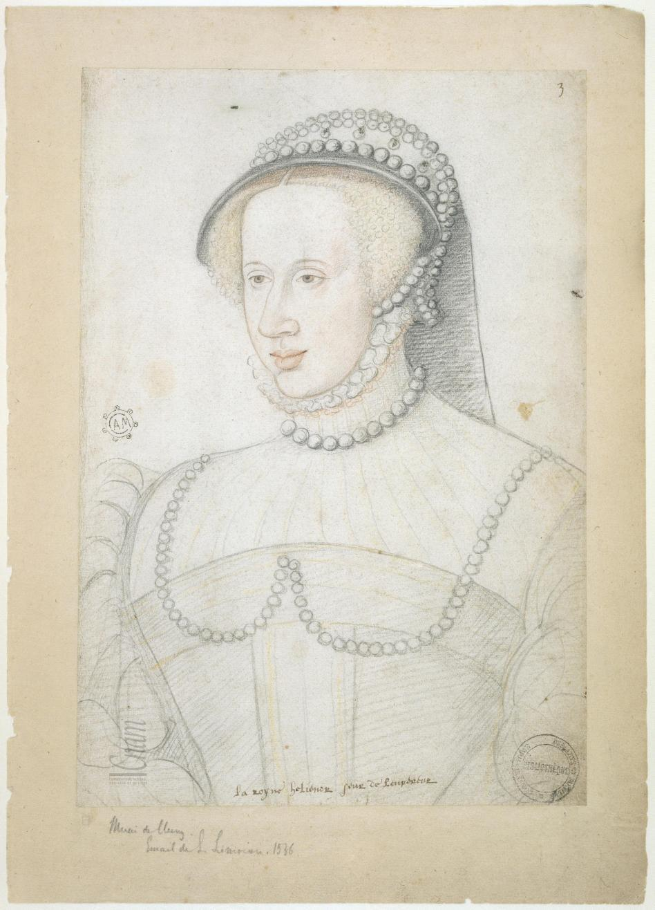 1536 - Eleonore de Habsbourg, Queen of France - from Le