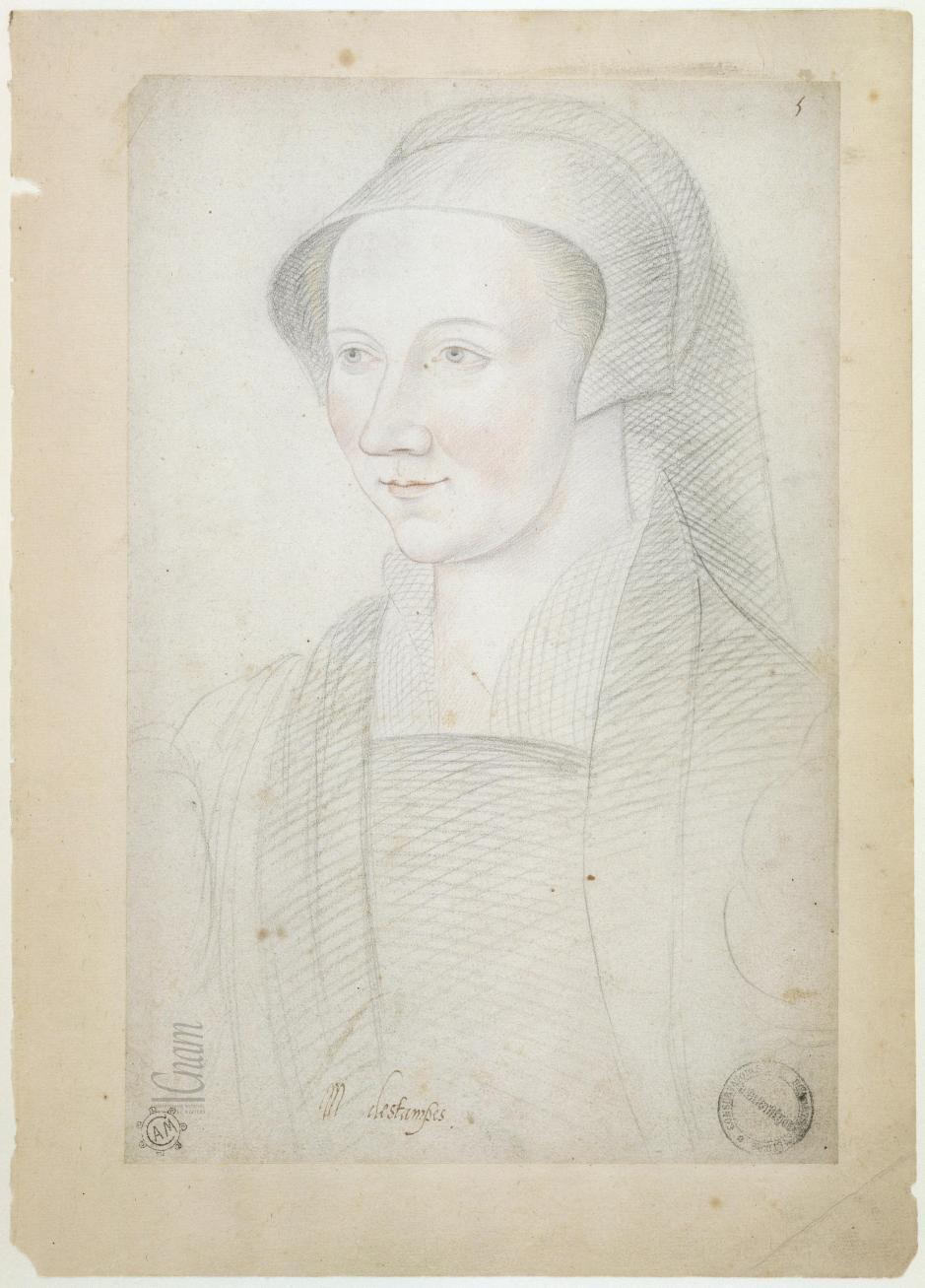 """date unknown - Anne de Pisseleu, duchesse d'Etampes- from Le """"Recueil des Arts et Métiers"""""""