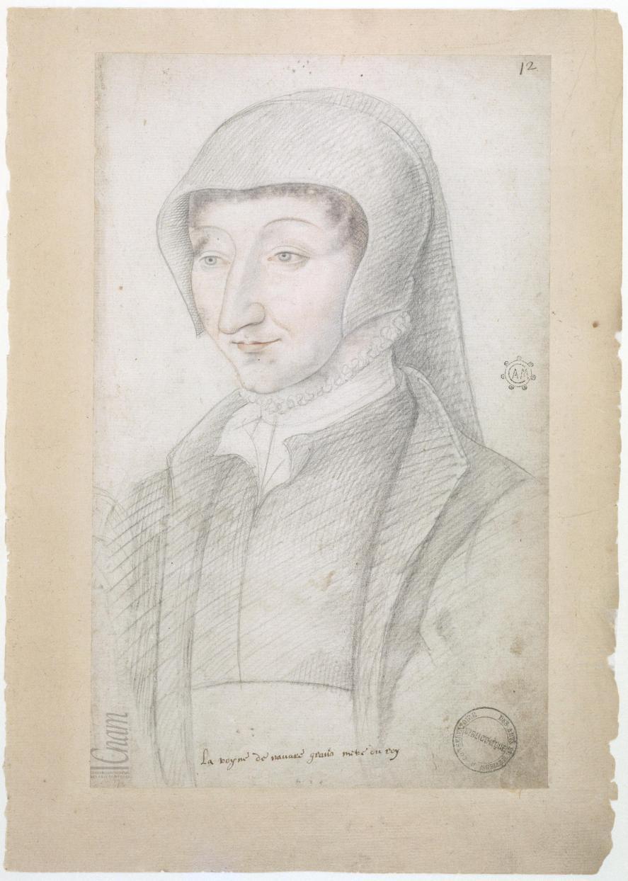 date uknown - Marguerite de Valois sister of François I - from Le Recueil des Arts et Métiers