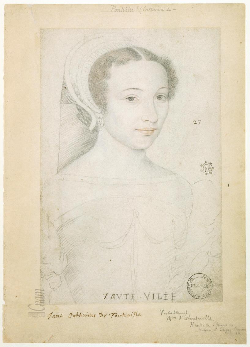 1540s - Elisabeth de Hauteville - from Le Recueil des Arts et Métiers