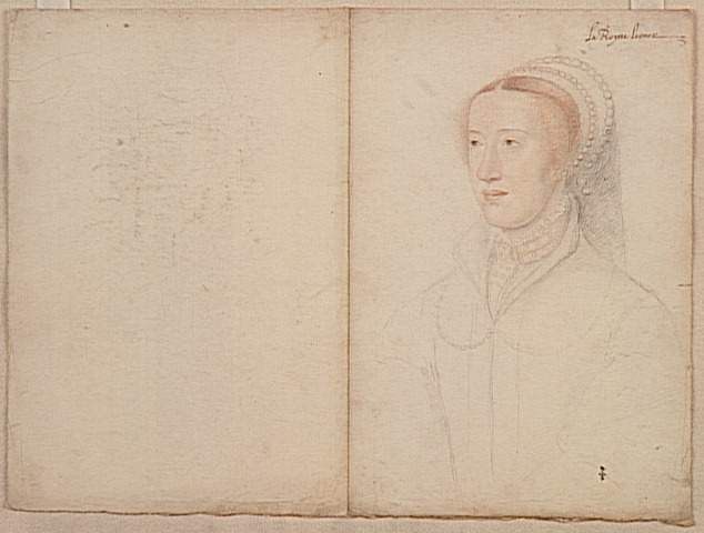 1540 (approx) - Eleonore de Habsbourg, Queen of France - Clouet