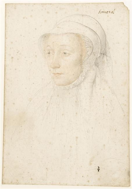 1540 (approx) - Renée de Bonneval (1515-vers 1550) - Jean Clouet - prior to 1540