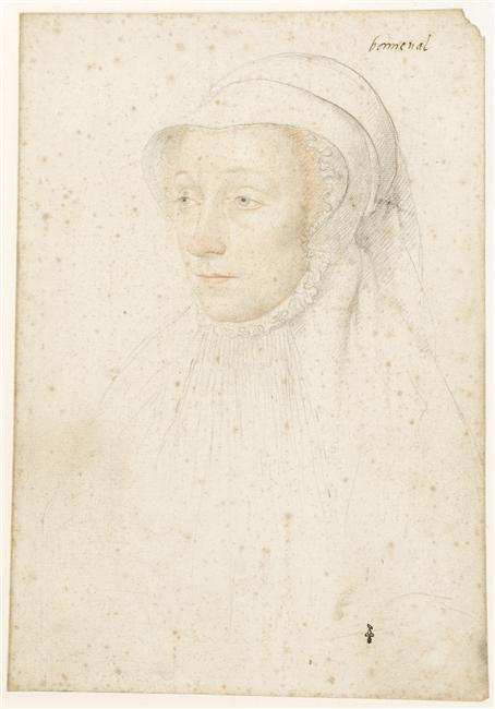 1540 (approx) - Renée de Bonneval (1515-vers 1550) - Jean Clouet - prior to 1540