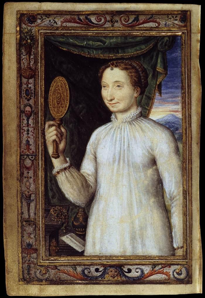 1530s - Portrait of Marguerite d'Angoulème - Bibliothèque Nationale, Paris