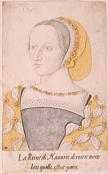 date unknown - Portrait de Marguerite de Valois - http://www.photo.rmn.fr/