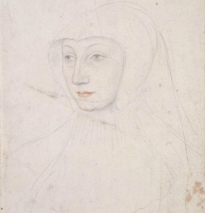1526 - Marguerite d'Orleans - Queen of Navarre - Francois Clouet?