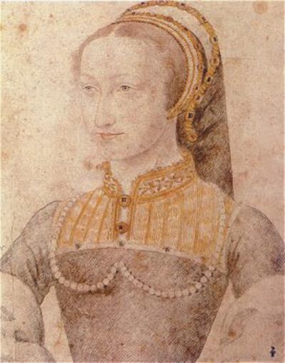 1548 (approx) Jeanne d'Albret - School of Jean Clouet