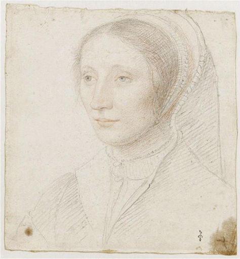 1520 to 1530 - school of Jean Clouet - Unknown Woman - http://www.culture.gouv.fr