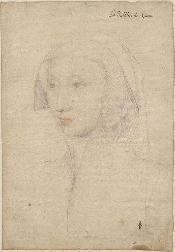 1530 - School of Jean Clouet - Aimée de Mottier de La Fayette, dame de Silly - http://www.culture.gouv.fr/