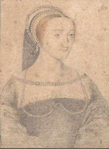 1540 (approx) - school of Jean Clouet - unknown woman - http://www.culture.gouv.fr