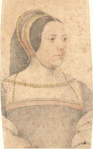 1525 - School of Jean Clouet - Judith d'Assigny, dame de Créqui de Canaples - http://www.culture.gouv.fr