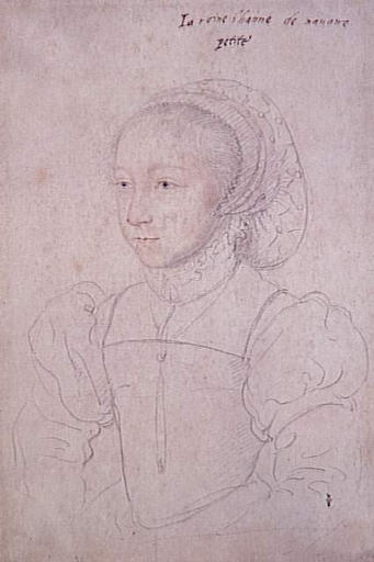1540s (estimated) - Jeanne d'Albret, as a child - CLOUET Jean (school of) - http://www.culture.gouv.fr/