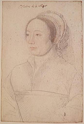 1535 (approx) - School of Jean Clouet - Charlotte d'Humières, dame de Montmorency de La Rochepot - http://www.culture.gouv.fr