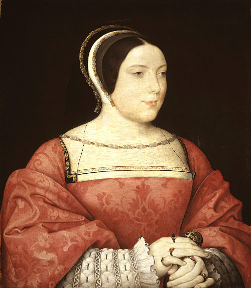 1525 - Mme Canaples by Jean Clouet
