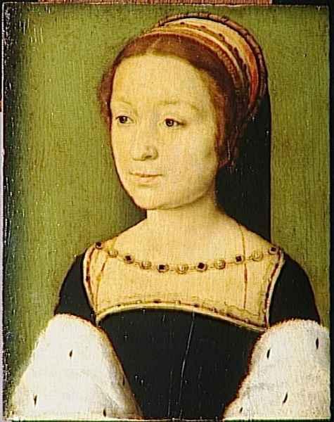 1530s - Madeleine d'Ecosse (1520-1537) by Corneille de Lyon