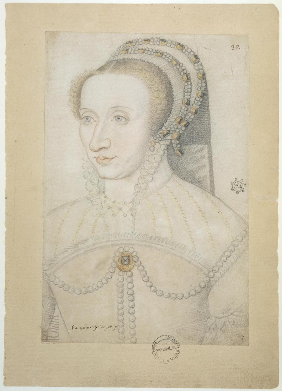 "date unknown -Marguerite de France, daughter of Francois I - Le ""Recueil des Arts et Métiers"""