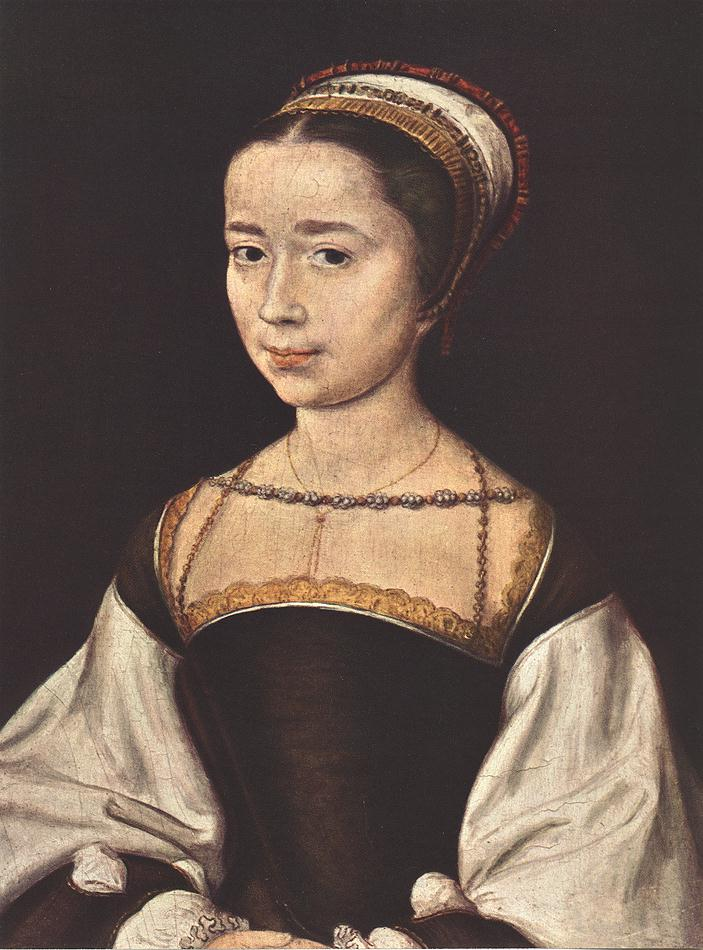 1530s -Portrait of a Woman by CORNEILLE DE LYON