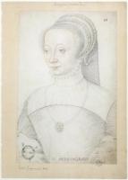 date uknown (1540s?) - Jeanne de Genouillac d'Acier, dame de Rhingrave - from Le Recueil des Arts et Métiers