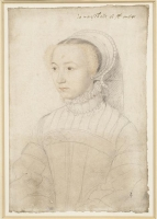 1545 - Portrait de Marguerite de Lustrac - Clouet