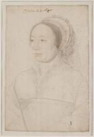 1540 - Portrait de Charlotte d'Humières - Jean Clouet