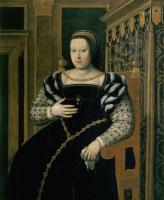 date unknown - Portrait de Catherine de Médicis, reine de France - Tito di Santi
