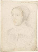 1530 (approx) - Madeleine de Crussol, femme de Louis de Miolans (1490-1531) - Jean Clouet