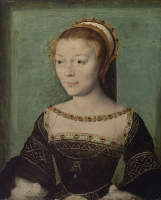 1533 - Anne de Pisseleu - by Corneille de Lyon