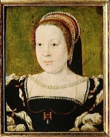 date unknown -CATHERINE DE MEDICIS, REINE DE FRANCE (1519-1589) ; by  CORNEILLE DE LYON