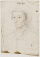 1540 - School of Jean Clouet - Claude de Villiers de l'Isle-Adam, dame de Suze - http://www.culture.gouv.fr