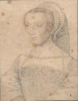 1540 (approx) - unknown woman (possibly Diane , duchesse de Montmorency) - http://www.culture.gouv.fr