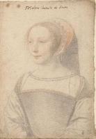 1540 - School of Jean Clouet - Françoise de Longwy - http://www.culture.gouv.fr