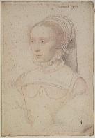 1543 - Jossine de Pisseleu dame de Lénoncourt comtesse de Vignory by  CLOUET François - http://www.culture.gouv.fr/