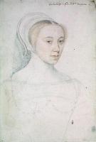 1540 - School of Jean Clouet - Jeanne de Vivonne, dame de Clermont, baronne de Dampierre - http://www.culture.gouv.fr