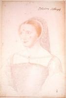 1540 - School of Jean Clouet - Anne d'Heilly de Pisseleu, duchesse d'Etampes de brosse - http://www.culture.gouv.fr/