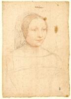 1535 - school of Jean Clouet - Marie de Monchenu, demoiselle de Macy - http://www.culture.gouv.fr