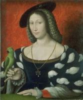 1527 - Marguerite d'Angoulême, by Jean Clouet