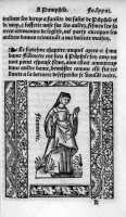 1532 - engraving from Illustrations de Flammette, complainte des tristes amours de Flammette à son amy Pamphile