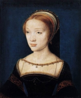1530s - A Young Lady by CORNEILLE DE LYON -Staatliche Museen, Berlin