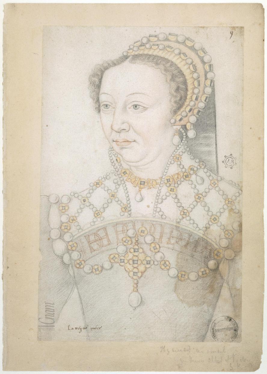 date unknown - La reyne mère Catherine de Médicis