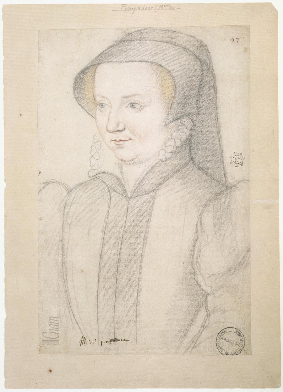 date unknown - Suzanne d'Escars (?), femme de Geoffroy de Pompadour