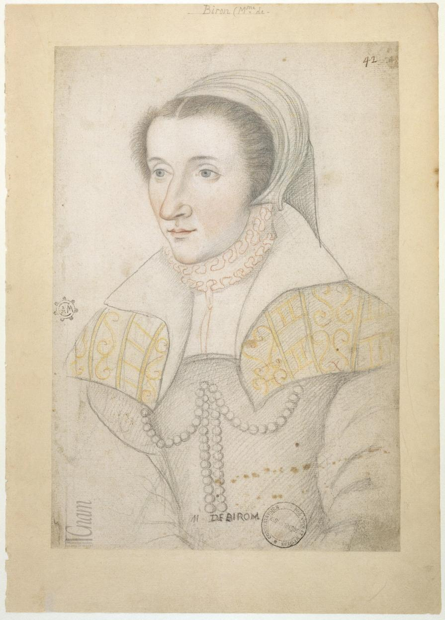 1559 (after) - Jeanne d'Ornezan, dame de Biron