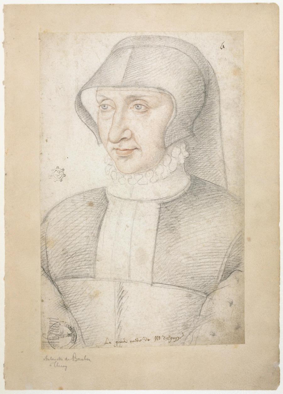 1577 (prior to) - Antoinette de Bourbon, duchesse de Guise (b 1493 d 1583)
