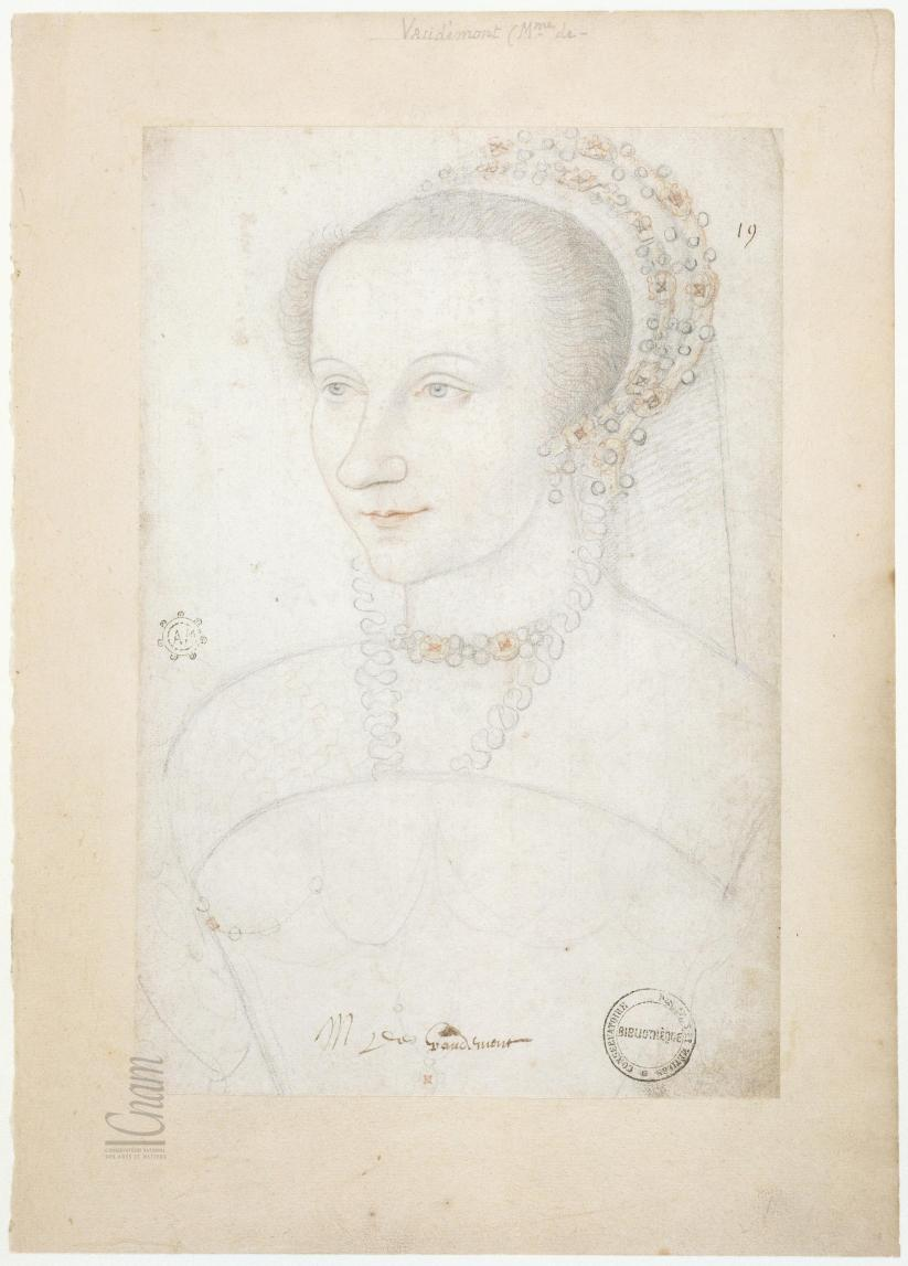 1550 (approx) - Marguerite d'Egmont, comtesse de Vaudemont - became comtesse de Vaudemont in 1548 and died 1554)
