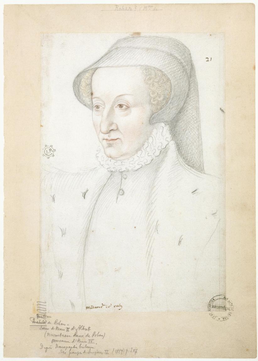 1550 (approx) - Isabelle d'Albret, dame de Rohan