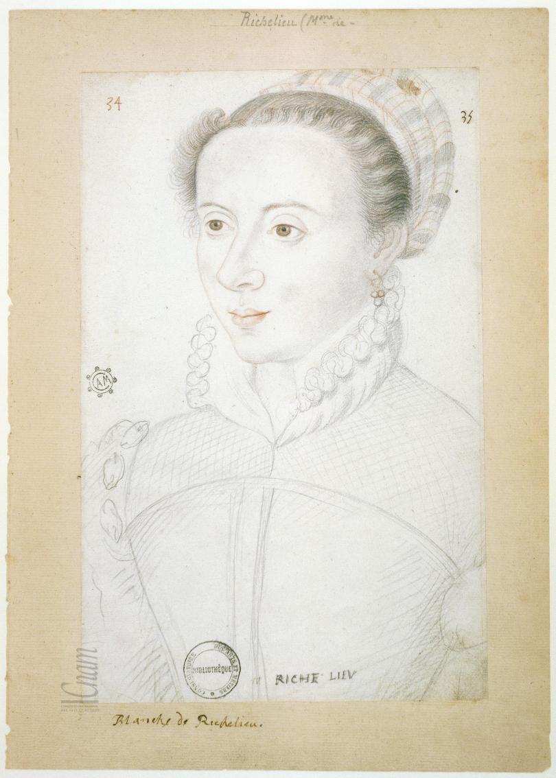 date unknown - Françoise de Rochechouart, dame du Plessis – Richelieu