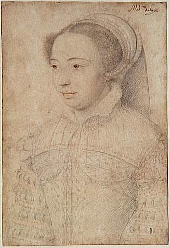 1563 - Jeanne d'Halluin - Clouet