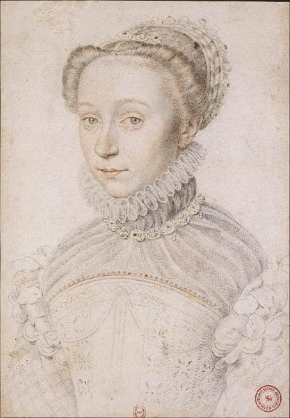 1559 - Elisabeth de France - Clouet